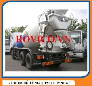 May bom betong HD270 Huyndai